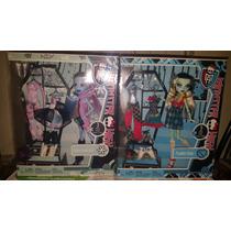 Monster High Abbey Y Frankie Con Tres Cambios De Ropa