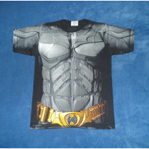 Playera Camiseta Dark Knight Batman Traje Torso Superhéroes