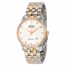 Reloj Mido Baroncelli Automático Acero Dorado M86009111