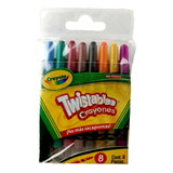 Crayones Twistables 8 Piezas Mini Crayola