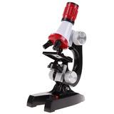 Microscopio Led De Laboratorio 100x-1200x Juguete Educativo