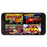 Coleccion Crash Bandicoot Ps1 En Español Para Android (: