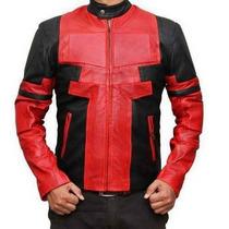 Chamarra Deadpool 100% En Piel De 1º Calidad!!!!