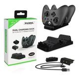 Carga Juega Control Xbox One S X Dock Cargador + 2 Baterias