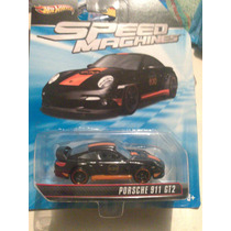 Hot Wheels De Coleccion Speed Machines Porsche 911 Ht2