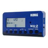 Metronomo Korg Ma-2 Ma-2-blbk Incluye Azul Envio Gratis