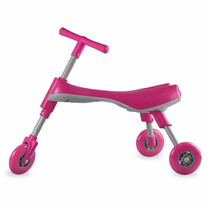 Triciclo Rosa Patin Infantil Plegable Juego Niños Fly Bike