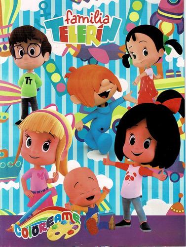30 Libros Para Colorear Familia Telerin 30 Cajas De Crayola En Venta