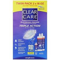 Tamaño Clear Care 3% De Peróxido De Hidrógeno Triple Acción