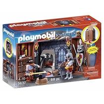 Playmobil 5637 Herreria Medieval Caballeros Armas Retromex