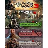 Seasson Pass Gears Of War 3 Dlc's Xbox 360 Y Xbox One Oferta