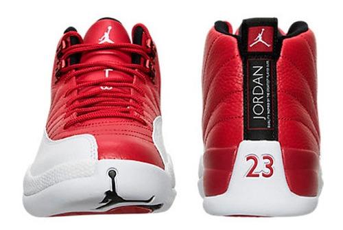 new styles fdee8 d39a3 Tenis Retro Nike Jordan 12 Gris Blanco 26 Us 28. Precio    4499 Ver en  MercadoLibre