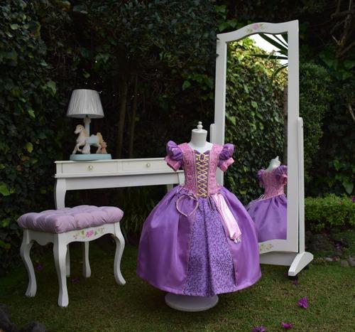 Disfraz Vestidos Princesas Disney Premium Talla 1 Año En
