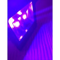 Lampara Led Luz Negra 100 Watt Uv Fiesta Neon Blanco Violeta
