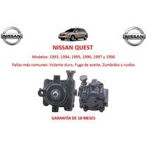 Bomba Licuadora Direccion Hidraulica Nissan Quest 1997
