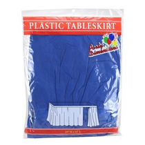 Party Dimensions Single Count Plastic Table Skirt, 29 By 14-