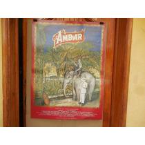Hector Bonilla, Ambar, Poster De Cine