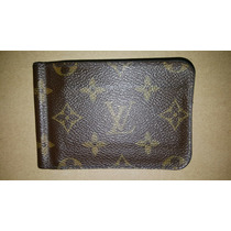 Cartera Louis Vuitton Con Clip Monogram