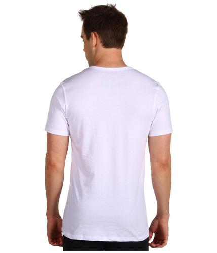 37bd1539 Calvin Klein 2x Paq 3 Playeras Camisetas Blancas Xxl Ve 2xl (Manga ...