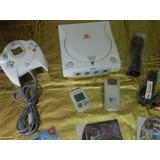 Consola Dreamcast, Control Memoria Brincador 5 Juegos Gratis