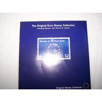 Original Coleccion De Timbres Postales De La Zona Euro