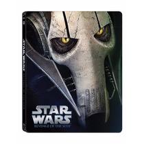 Star Wars Iii 3 Venganza De Los Sith Steelbook Pelicula Bd