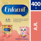 Fórmula Infantil Enfamil A.r. Bebés De 0-12 Meses, Lata 400g