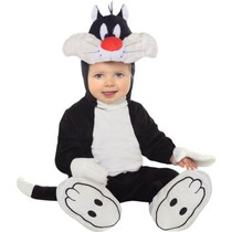 Disfraz De Gato Silvestre Looney Tunes P/ Bebes Envio Gratis