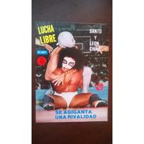 Santo Y El León Chino En Revista Lucha Libre # 1257