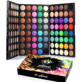 Kit De Sombra De Ojos Profesional 120 Colores De Maquillaje