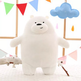 Osos Escandalosos De Peluche We Bare Bears 42x35 Cm C/u