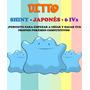 Ditto Crianza Pokémon (shiny - Japonés - 6 Ivs) + Objeto