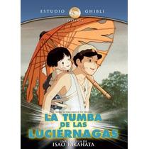 La Tumba De Las Luciernagas Isao Takahata Dvd Ghibli