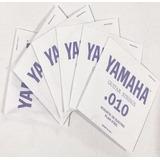 Yamaha En-10 Cuerdas Guitarra Eléctrica 10-46 Originales