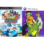 Sonic & All-stars Racing Transformed + Jet Set Radio  Ps3