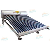 Calentador Solar 20 Tubos Sin Subir Tinaco Acero Inoxidable