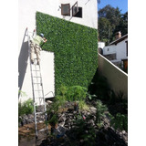 Muro Verde, Follaje Artificial Sintetico 60*40 Cm 10 Pzas