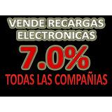 Vende Recargas Electronicas, Gana 7.0% , Vender