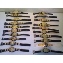 Wwe Cinturon Para Figuras $50.00 C/u Pregunta Por Existencia