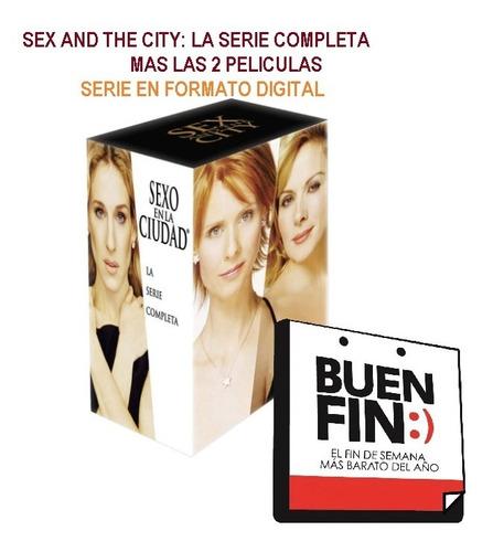 Sex And The City Serie Completa Mas Películas