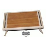 Mesa De Servicio /laptop Madera  Para Cama Plegable