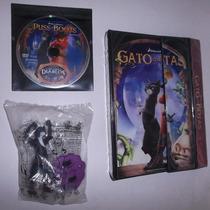 :: Gato Con Botas - Dvd + Carpeta + Juguete (no Disney)
