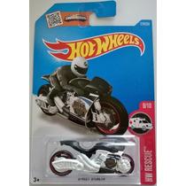 Hot Wheels - Motocicleta - Street Stealth - 2016