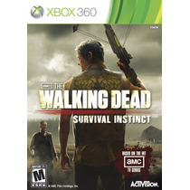 The Walking Dead Survival Instinct Xbox 360 Nuevo Sellado