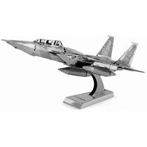 Rompecabezas 3d Avion F15 Eagle En Metal Fascinations