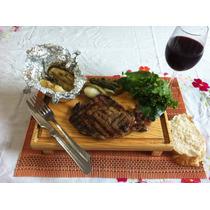 Tabla Plato Madera Pino Para Carnes Picar Sushi 19 X 30