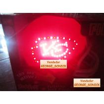 Mini Casco Nfl Fibra Optica Riddell Kansas City Chiefs / Hm4