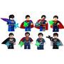 Set De Super Man Tipo Lego