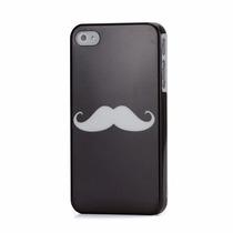 Funda Bigote - Moustache Black And White Iphone 4s Acro