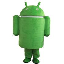 Botarga Disfraz Traje Tamaño Adulto Android Robot Pm0